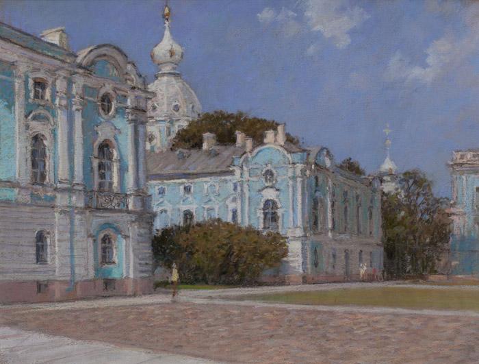 smolny-monastery--summer