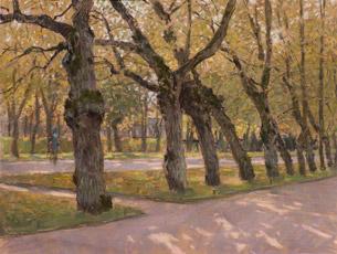 Autumn. Linden. Pavlovsk